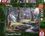 Puzzle Thomas Kinkade Snow White 1000 Pcs