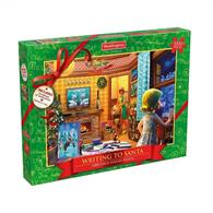 Puzzle Waddingtons Christmas Writing To Santa 1000 Pcs