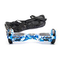 Scooter Electric Freewheel F1 Complete 6.5 Inch Camuflaj Blue + Husa Cadou