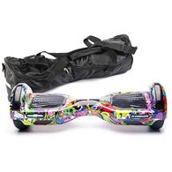 Scooter Electric Freewheel F1 Complete 6.5 Inch Graffiti Mov + Husa Cadou