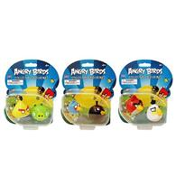 Set 2 Figurine Angry Birds Red And White Bird