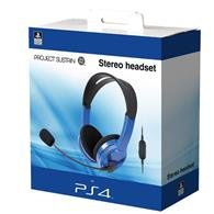 Set Casti Wired Chat Headset Blue Ps4
