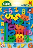 Set Cifre Si Semne Matematice Magnetice Lena Multicolore 36 Piese 3 Cm Lungime