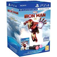Set Controller Sony Playstation Move V4.0 Twin Pack And Iron Man Ps4