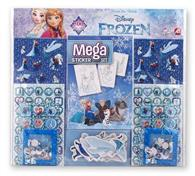 Set De 500 Stickere As Art Greco Disney Frozen Mega Sticker Set