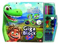 Set De Colorat As Disney The Good Dinosaur Drawing Giga Block 5 In 1