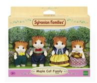 Set De Figurine Sylvanian Families Maple Cat Family Figure Set