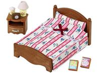 Set De Jucarii Sylvanian Families Semi Double Bed