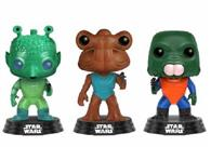 Set Figurine Pop Star Wars Greedo, Hammerhead, Walrus Man