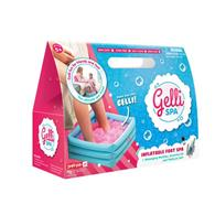 Set Gelli Spa Glittery Pink Inflatable Foot Spa