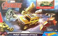 Set Hot Wheels Marvel Avengers Hulk Smash Attack