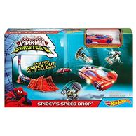 Set Hot Wheels Marvel Ultimate Spider Man Vs. The Sinister 6 Spidey S Speed Drop