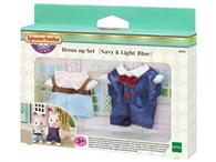 Set Imbracaminte Sylvanian Families Dress Up Set Navy & Light Blue