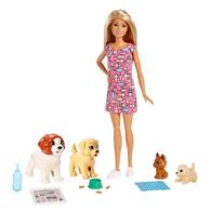 Set Jucarii Barbie Doggy Daycare Doll And Pups Colours Vary