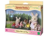 Set Jucarii Sylvanian Families Babies Ride And Play