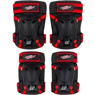 Set Protectie Skate Cotiere Genunchiere Cars Seven Sv9023