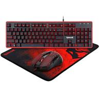 Set Redragon 3 In 1 Combo S107 Keyboard Mouse And Mouse Pad Pc