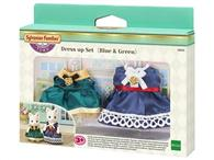 Set Rochite Sylvanian Families Dress Up Set Blue & Green
