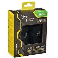 Set Steelplay Play And Charge Kit Twin Battery Xbox One