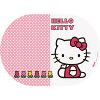 Suport Farfurii Oval Bbs, Hello Kitty, 35X25cm