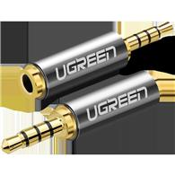 Ugreen 20501 Adapter 2.5 Mm Micro Jack To 3.5 Mm Mini Jack (Gray)
