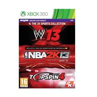 Wwe13 Nba 2K13 Topspin 4 Sports Collection Xbox 360
