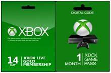 Abonament Microsoft Xbox Live Gold 14 Days + Xbox Game Pass 1 Month Xbox One