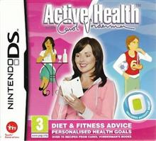 Active Health Carol Vorderman With Activity Meter Nintendo Ds