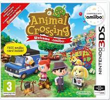 Animal Crossing New Leaf Welcome Amiibo! And Amiibo Card Nintendo 3Ds