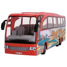Autobus Dickie Toys Touring Bus Rosu