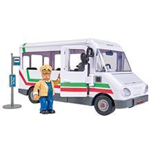 Autobuz Simba Fireman Sam Trevors Bus Cu Figurina imagine