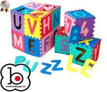 Babygo u2013 Salteluta De Joaca Cu Cifre Si Litere Puzzle 36 Piese