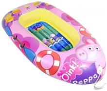 Barca Gonflabila Copii 110Cm Saica 9115 Peppa Pig