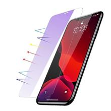 Baseus 0.15Mm Full-Glass Tempered Glass Film Anti-Bluelight (2Pcs Pack) For Iphone 11 Pro 6 5 Inch