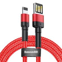 Baseus Cafule Double-Sided Usb Lightning Cable 2 4A 1M (Red) imagine