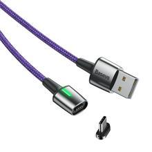 Baseus Zinc Magnetic Cable Usb For Type-C 3A 1M Purple