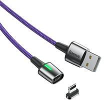 Baseus Zinc Magnetic Lightning Cable 1.5A 2M (Purple) imagine