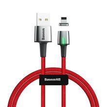 Baseus Zinc Magnetic Usb Lightning Cable 2.4A 1M (Red) imagine