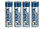 Baterii Alcaline Energy R3(Aaa) Varta - Blister 4 Buc.
