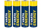 Baterii Alcaline Energy R6(Aa) Varta - Blister 4 Buc.