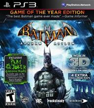 Batman Arkham Asylum Game Of The Year Edition Ps3