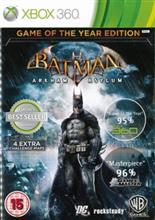 Batman Arkham Asylum Game Of The Year Edition Xbox360