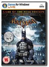 Batman Arkham Asylum Game Of The Year Pc
