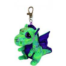 Bb Clip Dragon Verde - 8.5 Cm