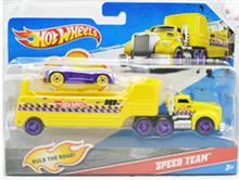 Camion Cu Remorca Hot Wheels - Speed Team