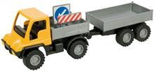 Camion Cu Remorca Unimog Din Plastic 24Cm
