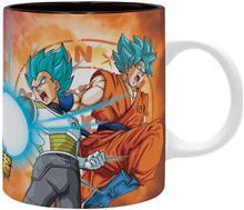 Cana Abysse Dragon Ball Super Saiyans Vs Frieza 320Ml Mug