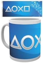 Cana Playstation Silver Buttons Mug