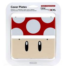 Carcasa Nintendo Official Cover Plate For New 3Ds Red Toad