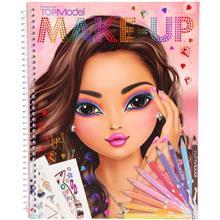 Carte De Colorat Create Your Make-Up Top Model Depesche Pt10728